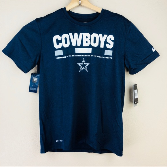 Nike Dri Fit Dallas Cowboys Staff Legend Tee Sz M 19e7d641a